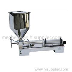 G1WGD single nozzle pneumatic paste&liquid filling machine for jam