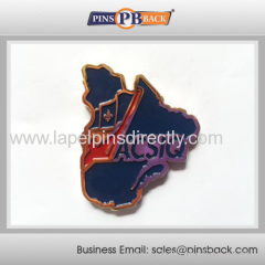 Cheap High Quality No MOQ Order Soft Enamel Lapel Pins / metal lapel pin badge