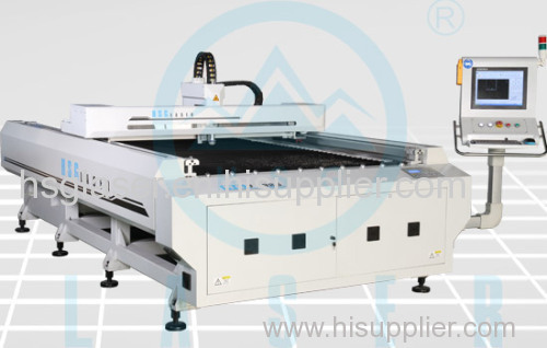 HS-F1325 the first fiber laser cutting bed with 100m/min speed in China