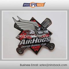 Cheap Baseball Trading Pins for Team / soft enamel baseball trading pins