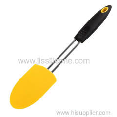 OEM Silicone scraper spatula with stainless steel handle