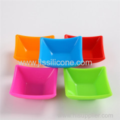 Food degree silicone source small bowl