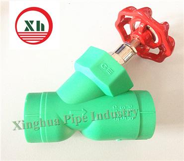 China polypropylene plastic filter valves