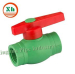 China PPR brass Ball Valve pipes plastic fittings