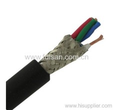 low noise double shielded 2 cores 4 cores Microphone cable