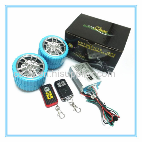 motorcycle fm digital alarm system