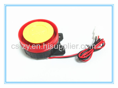 motorcycle security alarm system with siren