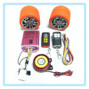 MP3 motorcycle alarm speaker system