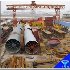 2014 newly designed energy saving high quality rotary kiln with attractive price