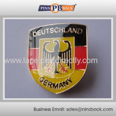 Promotional gifts custom soft enamel pin badges with epoxy dome