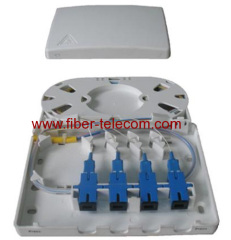 FTTH plastic distribution box