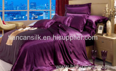 pure silk bedding sets with high quality
