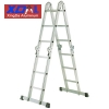 XD-M-370 Compact folding Aluminum multi purpose ladder portable with anti slip ends