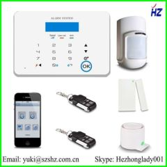 2014 Intelligent home security GSM Alarm System GSM-X6