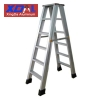 XD-F-500 Compact folding Aluminum multi purpose ladder with anti skid ends household industrial use