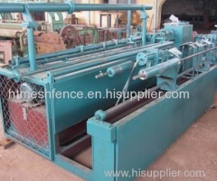 Automatic chain link mesh machine chain link fence making machine