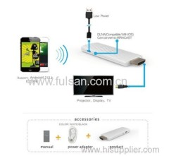 wifi display dongle all sharecast dongle Full HD 1080P WiFi Display Dongle HDMI Wireless PTV Support DLNA / Miracast