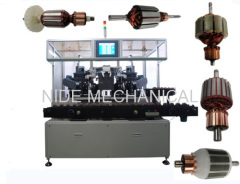 Automatic dynamic balancing machine