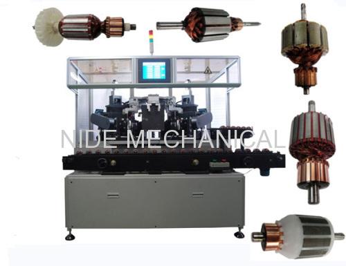 Automatic dynamic balancing machine
