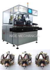5 STATIONS ARMATURE BALANCING MACHINE WITH CONVEYOR
