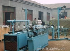 Factory Chain Link Fence Weaving machine chain link mesh fence machine