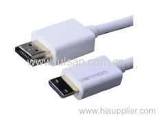High Quality MINI HDMI Cable to HDMI CABLE Gold-plated