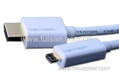 Micro HDMI cable A to D use for HTC EVO 4G Motorola XT800 ditial cameral