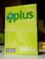 IK Plus A4/A3 Copy Paper 80gsm/75gsm/70gsm