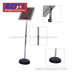 XD-J-L03 Aluminum alloy poster frames guite signs stands height adjustable flexible design for museum