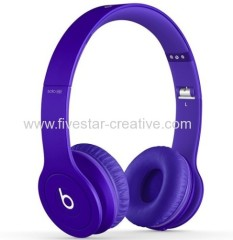 Beats Solo HD 2.0 On-Ear Headband Headphones In Matte Series Drenched in Purple