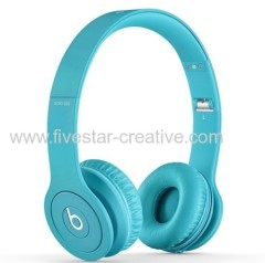 Beats by Dre Solo HD V2 On-Ear Headphones Drenched in light blue