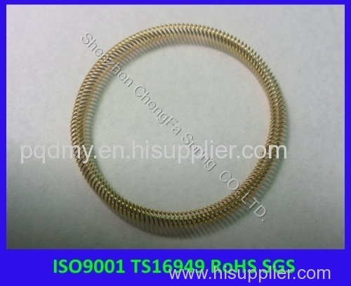 Precision canted coil Spring