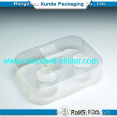 2014 Cosmetic plastic clamshell packaging