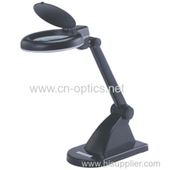 LED desktop magnifier lamp