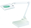 Rectangular 28w magnifier lamp with SA3 arm
