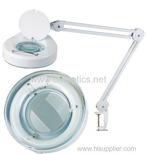 LED magnifier lamp with SA3 arm, metal head.