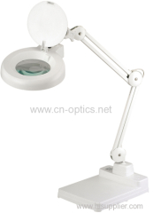 LED magnifying lamp with SA3 arm