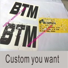 China Manufacture Custom Safety Tags