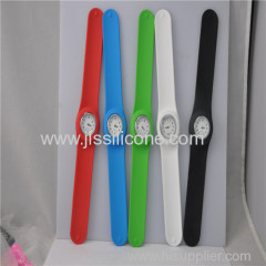 Sport silicone wristand patted watches