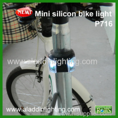 P716 cheapest LED silicon Tail bike light