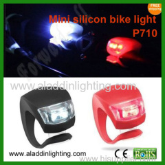 P710 LED Silicon warning bike light