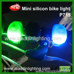 Silicone Wrap-Around Band LED Bike Lights