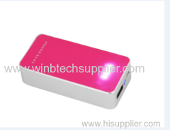 Best slip portable power bank mobile battery charger 4400 power bank