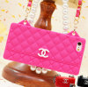 Chanel style silicone material waterproof cellphone case apple iphone5 free shipping by DHL
