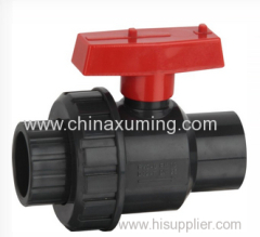 CPVC & PVC Single Union Ball Valve With ASTM Standard