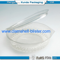 Sushi Transparent Plastic Container Packaging With Cover
