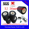 Fineray brand XJ type Dia36mm*32mm black Hot ink roll / Hot ink roller / Printing ink roller / Hot solid ink roll