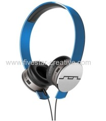 Sol Republic Tracks Ultra On-Ear Headphones With Remote and Mic Blue