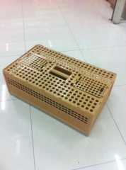 Plastic Poultry birds Transport cage dove cage Plastic Folding Pigeon Cage Transport Dove cage bird cage chicken cages
