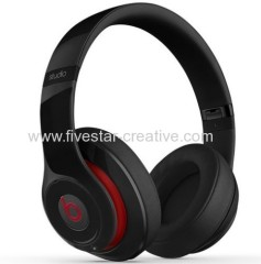 Beats by Dr.Dre Wireless Studio 2.0 Over-Ear Headphones Black